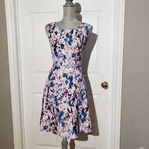 J.CREW NWT abstract floral mini dress